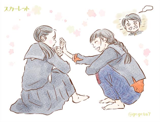2019スカーレット5照子と喜美子柔道.jpg